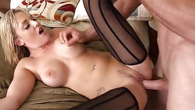 She was banged by me in the bedroom of my father's