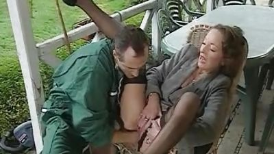 Mature woman gets fisted and banged. Subsequently girl joined her -daugher