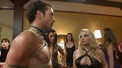 40 girls join a man to be submitted by Maitresse Madeline
