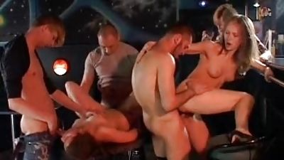 Pound girl gets banged in front of visitors