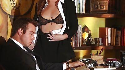 Maddy O'Reilly sexy secretary