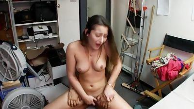 Redhead college girl horny