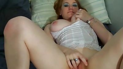 Redhead unexperienced huge-chested young with ass that is amazing!