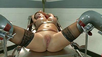 Hard-core, dominance, restrain bondage and anal invasion