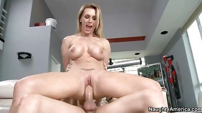 Mrs. Tate gets banged hard from behind