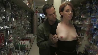 Group harassment in a shop