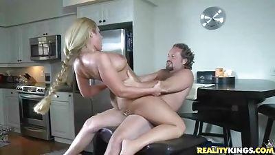 Hot Valerye gets facial cumshot after all