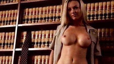 Kayden Kross wails rump babe gets penetrated on a desk