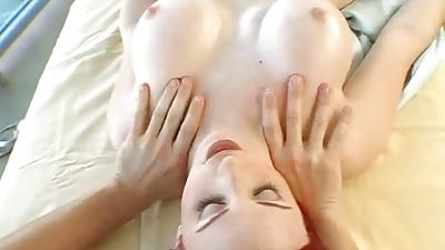 White redhead MUMMY getting fucked that is oiled