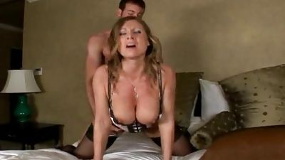 Unintentionally banged my friend's big-titted mother