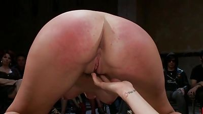 Bruntte honey gets humiliated in public