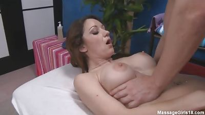 Huge-titted lolita Jordana rubbing my rod with her poon