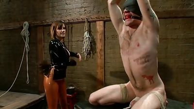 Maitresse Madeline's guy is dominated by she
