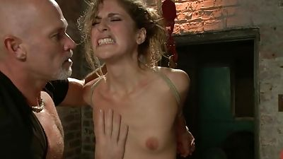 Kara Price banged hard and gets trussed