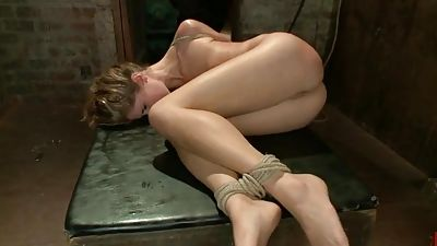 Kara Price banged hard and gets tied