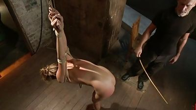 Kara Price gets trussed and punished